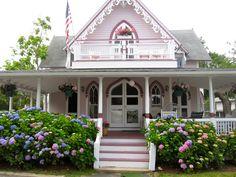 Gingerbread cottage on Martha's Vineyard.