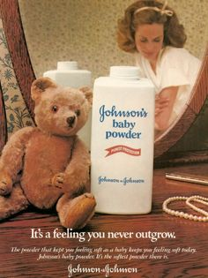 Johnson & Johnson Johnson's Baby Powder Ad - 1956 ...