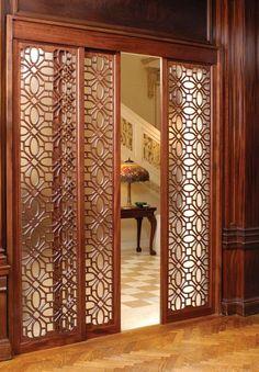 Pinecrest, Inc. - Lightsmith Grilles Great door for between master bath and bathroom.