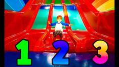 Learning Numbers on Indoor Playground Education for Kids, Toddlers and Babies Fun Playtime Zahlen lerner für Kinder Indoor spielplatz englische Erziehrung kl...