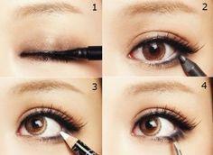 Cómo pintarse los ojos.