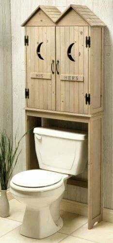 Oh, look. It's an indoor outhouse.