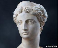 In Greek mythology there were 12 deities who lived on Mount Olympus Gods - Apollo, Ares, Dionysus, Hermes, Hephaestus, Poseidon, and Zeus Goddesses - Aphrodite, Athena, Artemis (above), Demeter, and Hera
