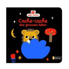 Livre Cache-cache des grosses bêtes pour enfant de 6 mois à 2 ans - Oxybul éveil et jeux