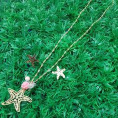 Estrella de mar en oro golfied