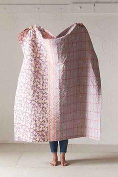 Plum & Bow Tula Kantha Throw Blanket - Urban Outfitters