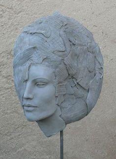 Naïa avant cuisson - Sculpture ©2014 par Judith Franken - Sculpture, Céramique