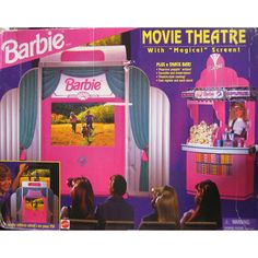 Barbie Movie Theatre 1995 oh gawd I had this!!