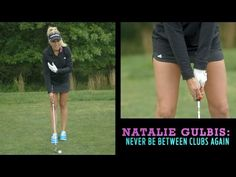 Hot Tip From a Hot Golfer: Here's Why Natalie Gulbis Is Never Between Clubs - YouTube