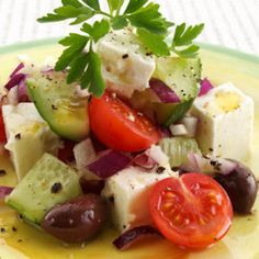 Authentic Greek Summer Salad