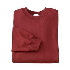 Port and Company Crewneck Sweatshirt Custom Sweatshirts ($16) ❤ liked on Polyvore featuring tops, hoodies, sweatshirts, sweaters, shirts, galaxy crewneck sweatshirt, red collar shirt, sweat shirts, crewneck sweatshirt and red sweatshirt