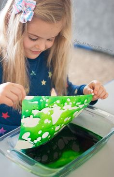 oil-and-water-droplet-painting-a-matter-and-mixtures-activity-density-activity-for-preschoolers