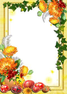 images of easter png Borders For Paper, Borders And Frames, Christmas Frames, Christmas Gift Tags, Birthday Bulletin, Festive Crafts, Fall Images, Paper Flowers Craft, Indian Art Paintings