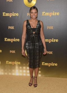 Taraji - a good look at the Empire premiere party.
