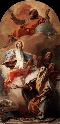 St. Anne's Vision Giovanni Battista Tiepolo 1759