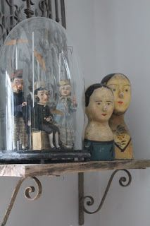 Transfixed with bell jars - need stuff in bell jars placed whimsically around the house!