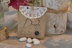 Gastgeschenke - 10 x Hochzeitsmandeln Gastgeschenk Vintage Mandeln - ein Designerstück von majalino bei DaWanda