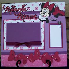 Minnie Mouse page I did :)