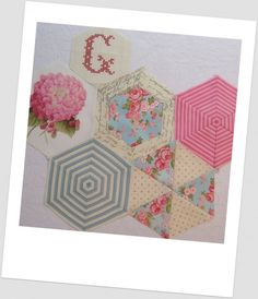 Beautiful hexagons (with freezer paper how to)
