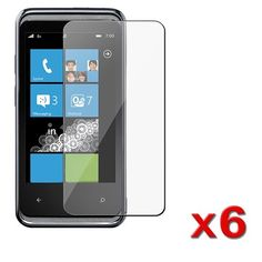 6 x Reusable LCD Screen Protector / Screen Guard for HTC Arrive $0.05