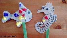 DIY: hacemos marionetas de cartón para los peques