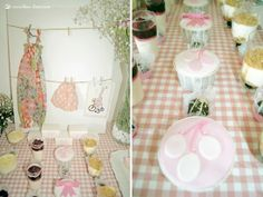 cupcakes for this Maileg rabbit themed party