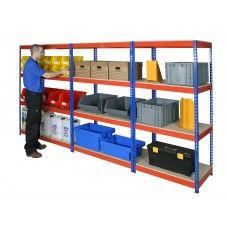 Rivet racking is a boltless shelving system. Rivet racking is available as widespan, archive storage, cable storage and garment storage. Boltless Shelving, Industrial Shelving, Shelves, Blue Orange, Blue Grey, Cable Storage, Shelf Supports, 2 Colours, Bespoke
