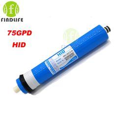 2016 HID TFC 1812-75 GPD RO 5 단계 물 필터 정수기 처리 역삼 투 시스템 NSF/ANSI 표준
