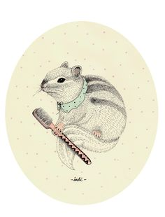 Cute Animals by Indi Maverick, via Behance