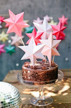 Gorgeous Cake and Stars