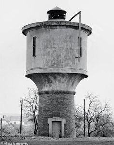 BECHER Bernd,Water tower,Galerie Gerda Bassenge, Berlin