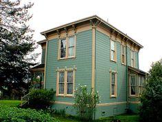 Italianate home Ferndale, Ca