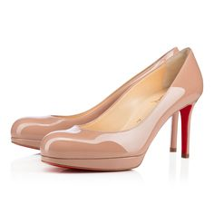 a7b5f880a6 New Simple Pump 85 Nude Patent Leather - Women Shoes - Christian Louboutin
