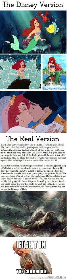 The Disney Version vs. The Real Version