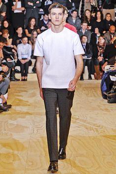 Jil Sander Menswear 2011  perfect top