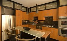 Fine Modern Kitchen Interior Design #simple #nice #kitchen #designs