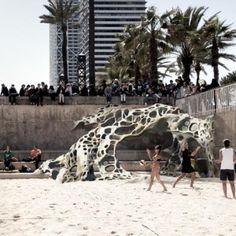 Stone Spray Robot by Anna Kulik,  Inder Shergill and Petr Novikov