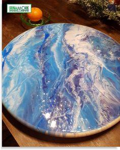 svingbar matstativ | FINN.no svingbar matstativ d 39 cm svingbar matstativ av tre, epoxy resin art   #epoxy #eposyresin #resin #epoxyfill # molde #moldemaleri #эпоксидка #эпоксиарт #эпоксиднаясмола