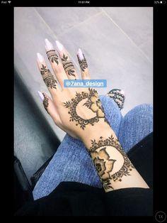 henna Wedding Henna Designs, Pretty Henna Designs, Latest Henna Designs, Floral Henna Designs, Finger Henna Designs, Mehndi Designs Feet, Modern Mehndi Designs, Mehndi Designs For Beginners, Henna Designs Easy