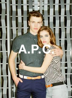 A.P.C. Fall/Winter 2013 Campaign Preview