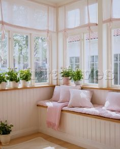 make-your-home-feel-brighter-with-sheer-window-coverings - Sunroom Windows Sunroom Windows, Sunroom Decorating, Enclosed Porch Decorating, Interior Desing, Cozy Nook, Window Coverings, Home Decor Bedroom, Sweet Home, Architecture