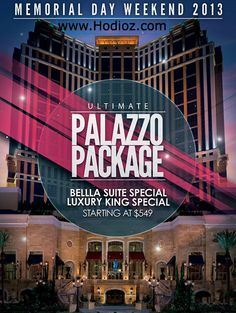 memorial day packages las vegas