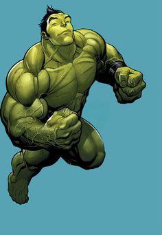 Hulk (Amadeus Cho) by Frank Cho