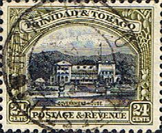 Trinidad and Tobago 1935 First Decimal SG 236 Government House Fine Used Scott 40  Other Trinidad and Tobago Stamps HERE