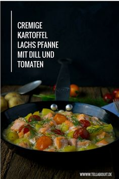 Suuuper lecker, Lachs und Kartoffeln mit Dill & Meerrettich