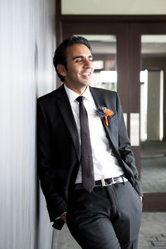 How classy is this groom? Photo by @Jessica Notargiacomo and @Jessica Latos of Paired Images.