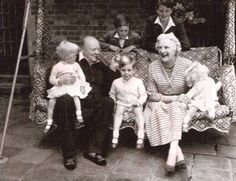 This photo taken in 1951 shows Sir Winston Churchill holding his granddaughter Emma Soames. Garden Swing Seat, Art Of Manliness, British Bulldog, Winston Churchill, Churchill Quotes, Historical Quotes, Chivalry, People Talk, Great British