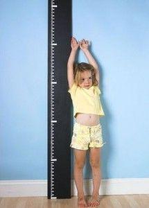 Hoe zelf een groeimeter maken van stof of papier
