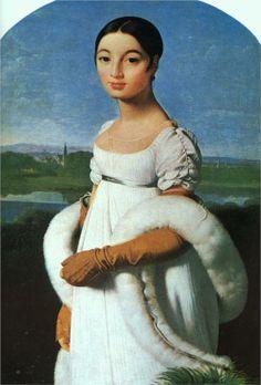 Mademoiselle Rivière - Jean Auguste Dominique Ingres, 1805