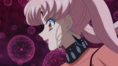 SMC Black Lady Sailor Moon Crystal, Sailor Chibi Moon, Black Lady, Black Moon, Magical Girl, Aesthetic Anime, Serenity, Goth, Kawaii